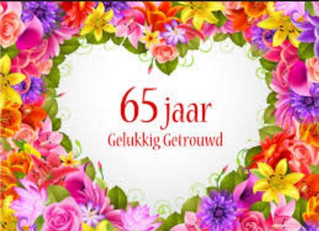 65 jaar getrouwd Afbeelding 65 Jaar Getrouwd   ARCHIDEV 65 jaar getrouwd