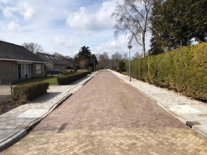 De Ir Krijnstraat is gereed. De rest volgt (Foto aangeleverd)