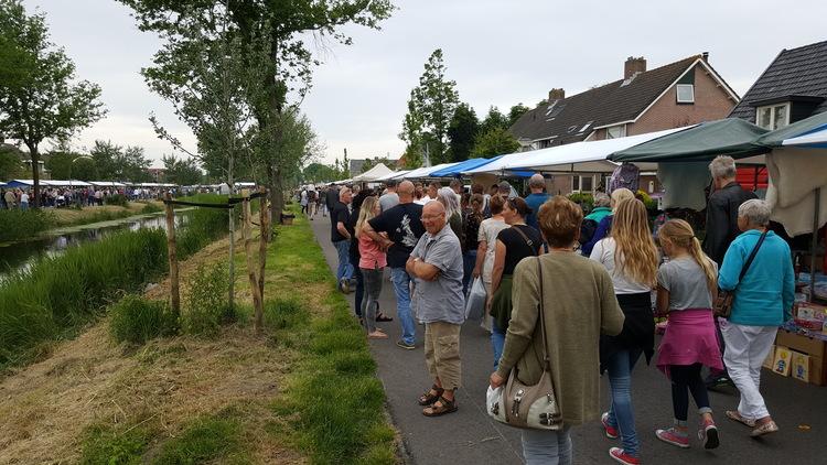 Breezand op Stelten presenteert weer een van de grootste braderieën van Nederland. (Foto: aangeleverd)