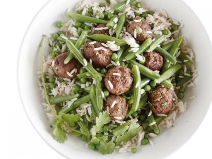 groenterijst met gehaktballetjes (Foto: DEEN supermarkten)