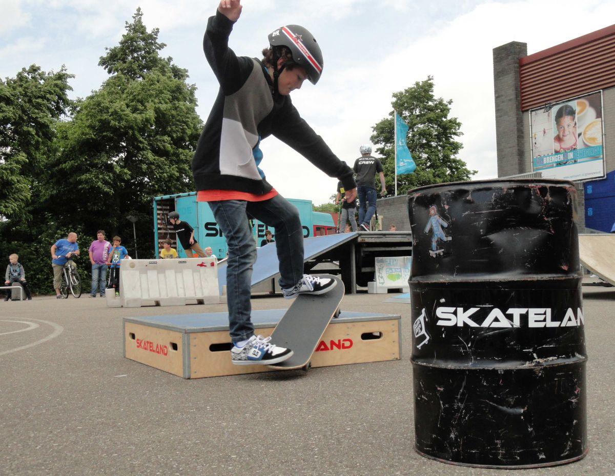 foto: Skatefun tijdens Skate & BMX Spektakel woonboulevard Hoorn
