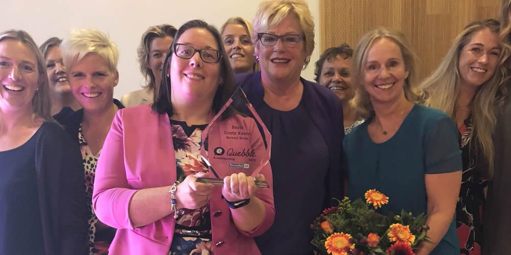 Berend Botje wint Kinderopvang Awards