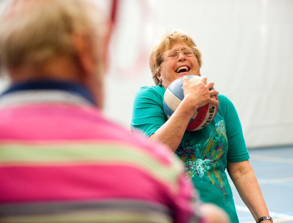 Recreatief spel en bewegen voor ouderen