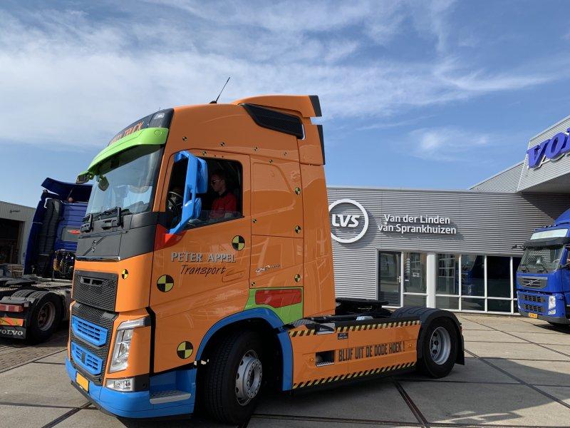 De speciale Volvo Safety Truck van Peter Appel Transport (Foto: Peter Appel Transport)