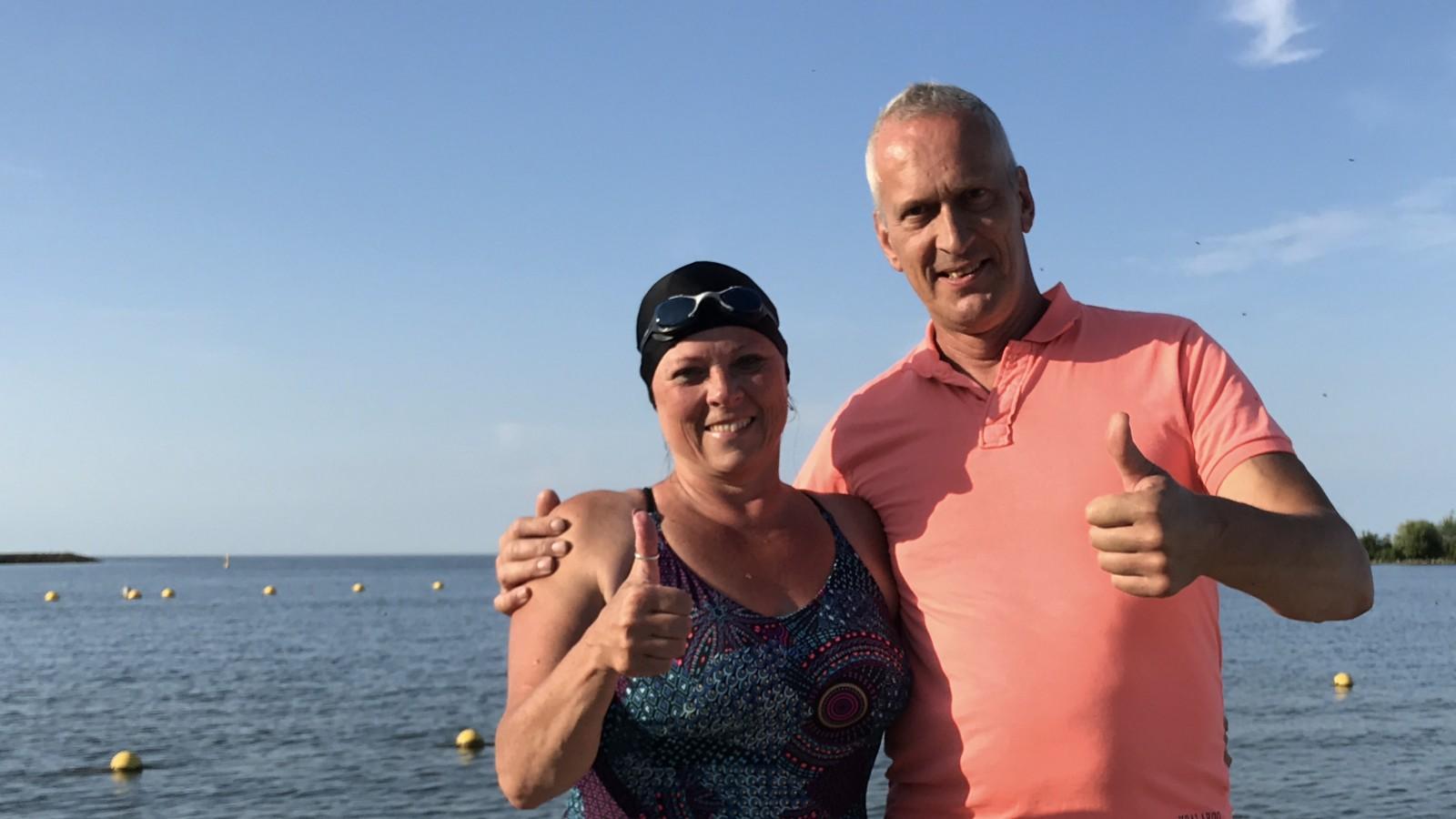 Ada Hijlkema uit Hippolytushoef zwemt zaterdag 2km mee met Maarten van der Weijden | Hollands Kroon Actueel - Hollands Kroon Actueel