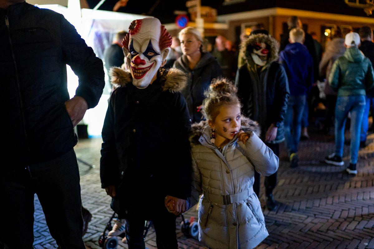 Fotoreportage: Terugkijken op een fantastische halloweenmarkt Hippolytushoef | Hollands Kroon Actueel - Hollands Kroon Actueel
