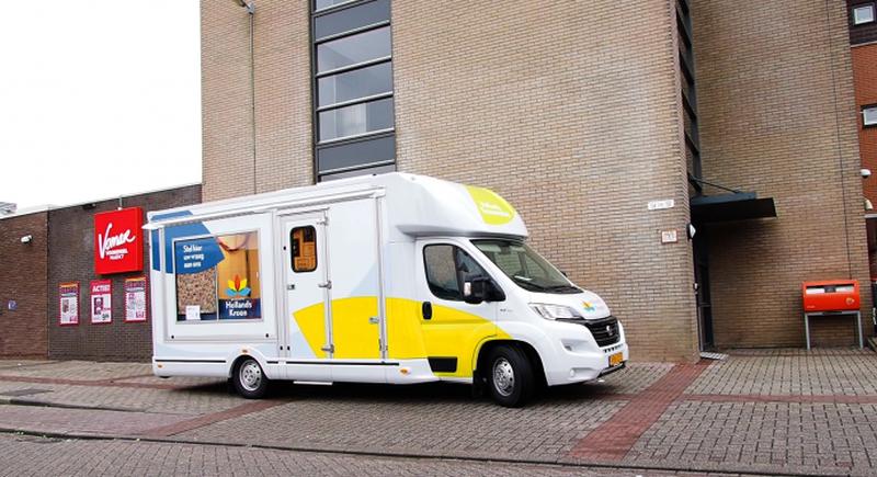 Vragen, klachten of meldingen? Stap binnen bij de Hollands Kroonmobiel