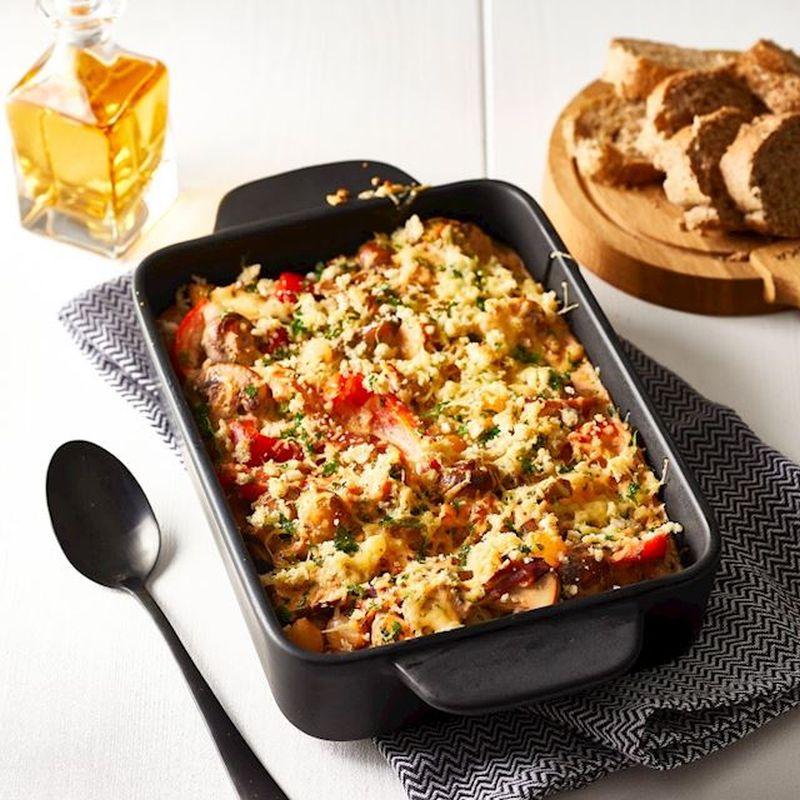 Wat eten wij vandaag: Stroganoff uit de oven